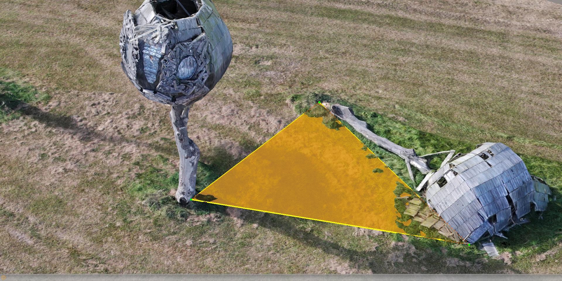 Oppervlaktemeting dmv 3d mapping
